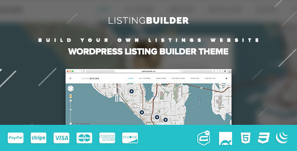 ListingBuilder – WP Listings Directory Theme