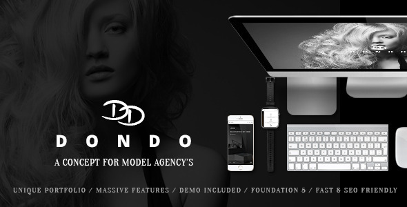 DONDO – Model & Agency Portfolio WP Theme