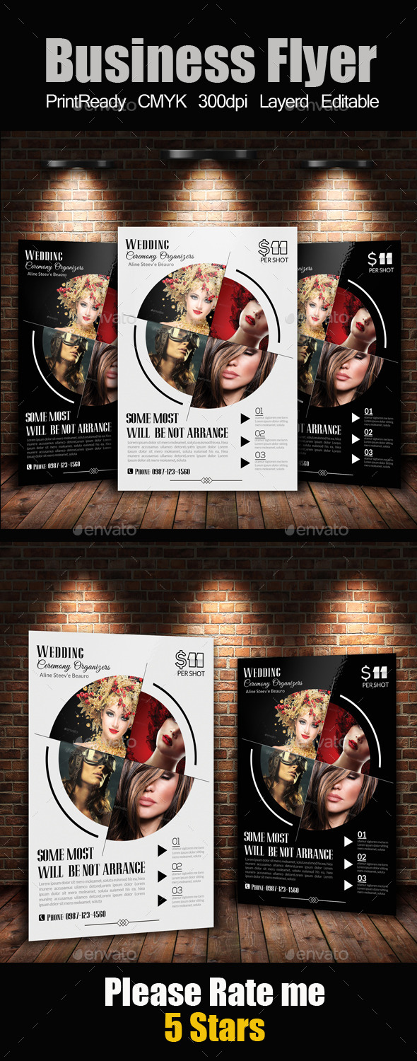 Photography Business Flyer Template - Corporate Flyers