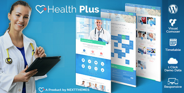 Health Plus – Health & Clinic WordPress Theme
