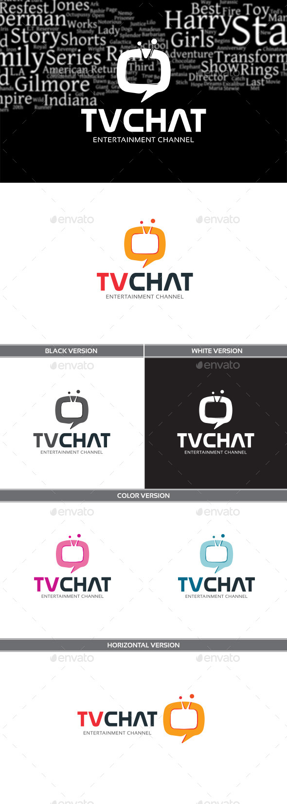TVChat - Objects Logo Templates