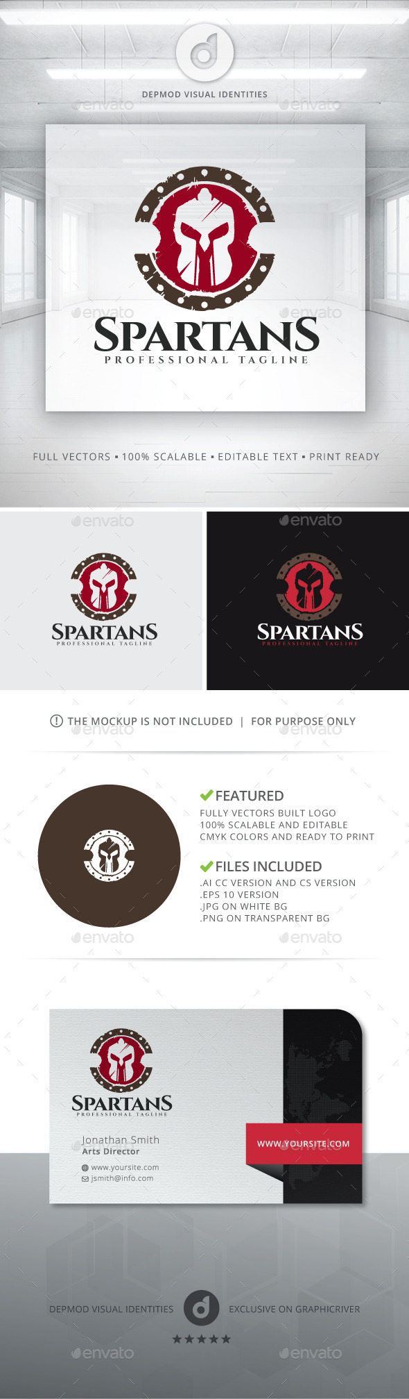 Spartans Logo - Objects Logo Templates