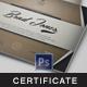 Multipurpose Modern Certificate v.17 - GraphicRiver Item for Sale