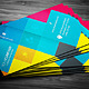 Colors Business Card - GraphicRiver Item for Sale