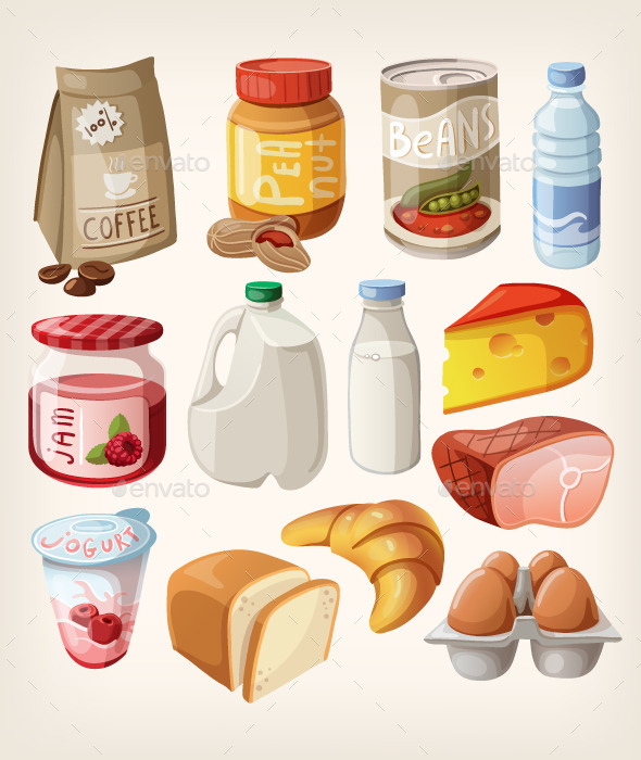 Common Market Goods - Food Objects