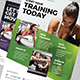 Fitness / Gym Flyer Template - GraphicRiver Item for Sale