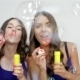Blowing Bubbles Straight At The Camera - VideoHive Item for Sale