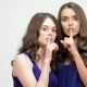 Sisters Making Silence Gesture - VideoHive Item for Sale