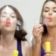 Young Ladies Blowing Bubbles - VideoHive Item for Sale
