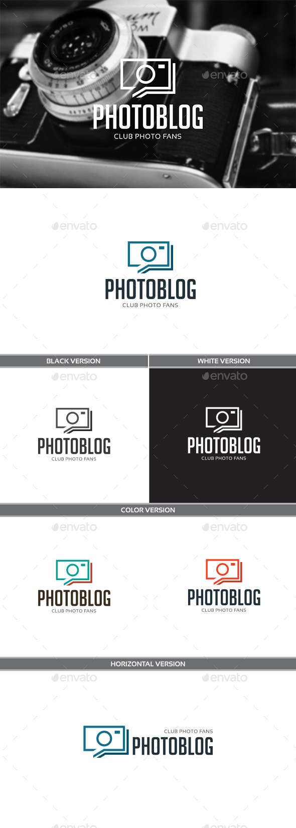 Photoblog - Objects Logo Templates