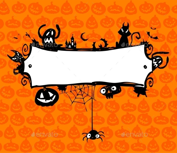 Halloween Frame - Halloween Seasons/Holidays