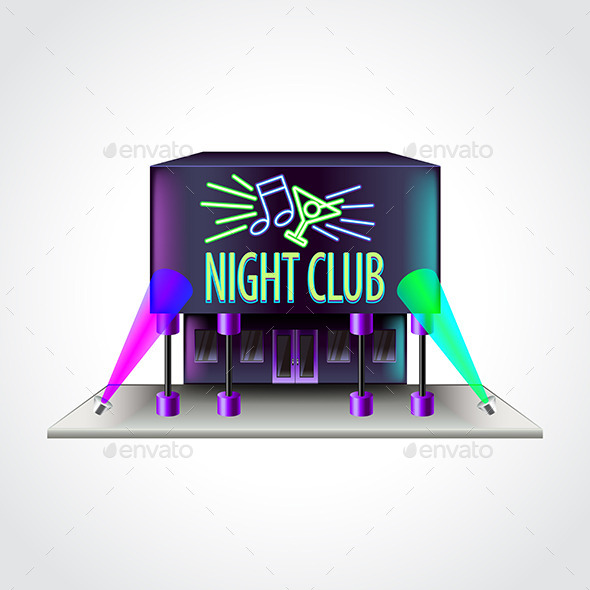 Night Club Building - Industries Business