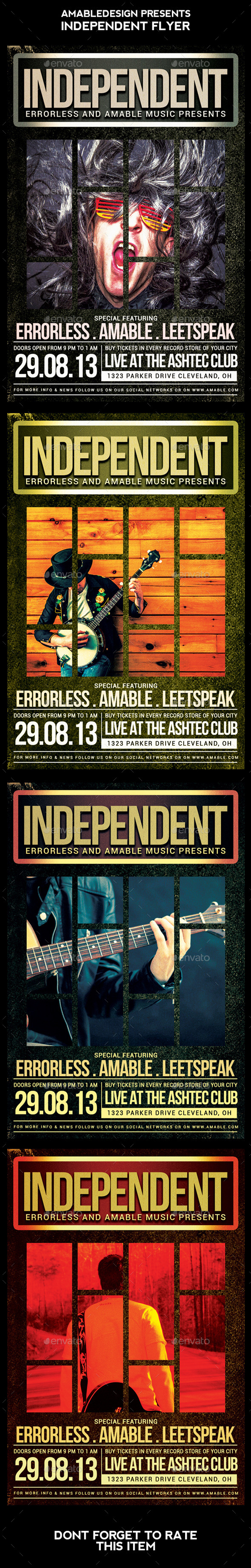 Independent Flyer - Concerts Events