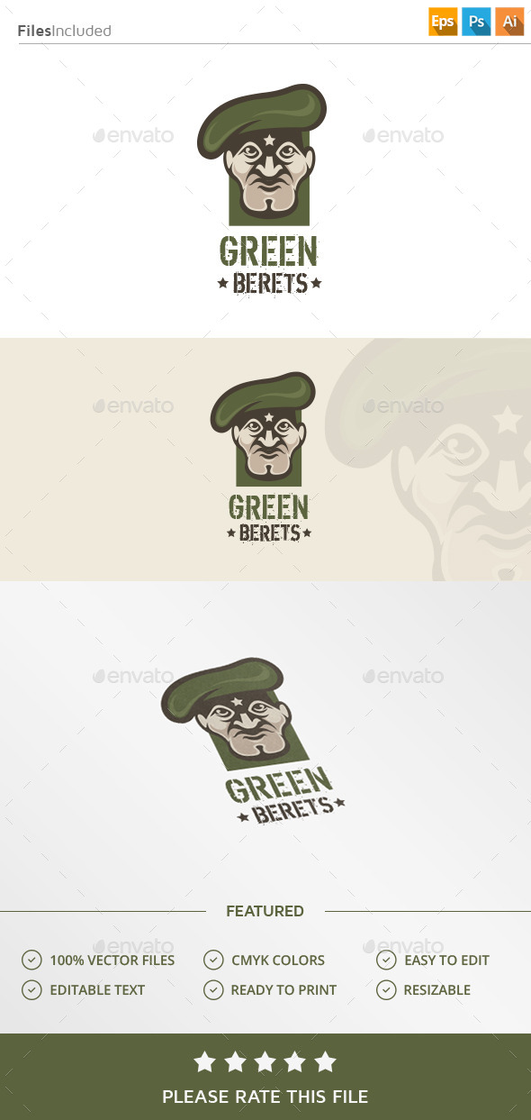 Military Soldier Logo - Humans Logo Templates
