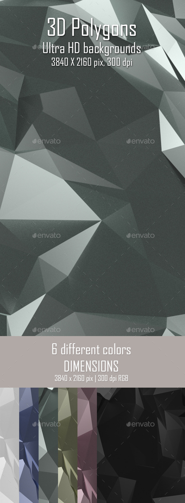 3D Polygon Background - 3D Backgrounds