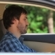 The Guy Sitting In The Car Running On The Tablet - VideoHive Item for Sale