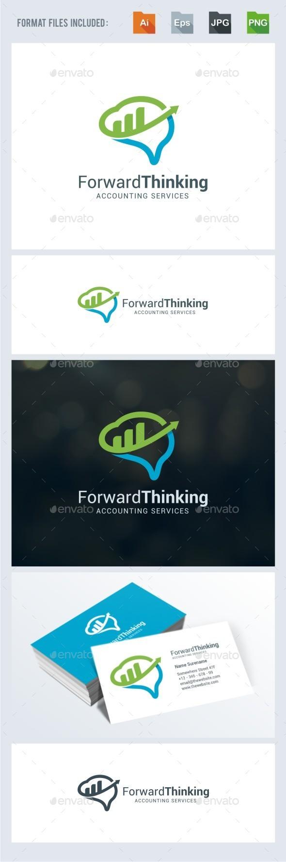 Forward Thinking - Symbols Logo Templates