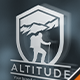 Altitude Trekking Logo - GraphicRiver Item for Sale