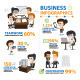 Infographic Office and Business, Lifestyle - GraphicRiver Item for Sale