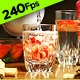 Serving Water and Strawberries - VideoHive Item for Sale