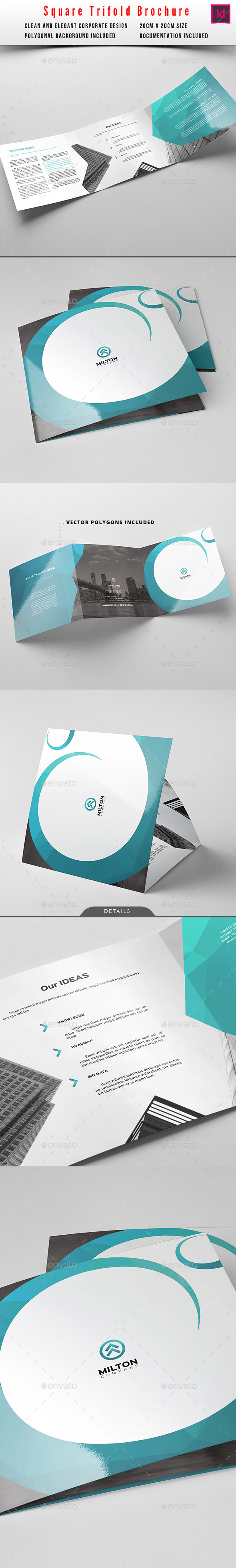 Square Trifold Business Brochure 3 - Corporate Brochures