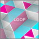 Colorful Geometric Polygons Loop 1 - VideoHive Item for Sale