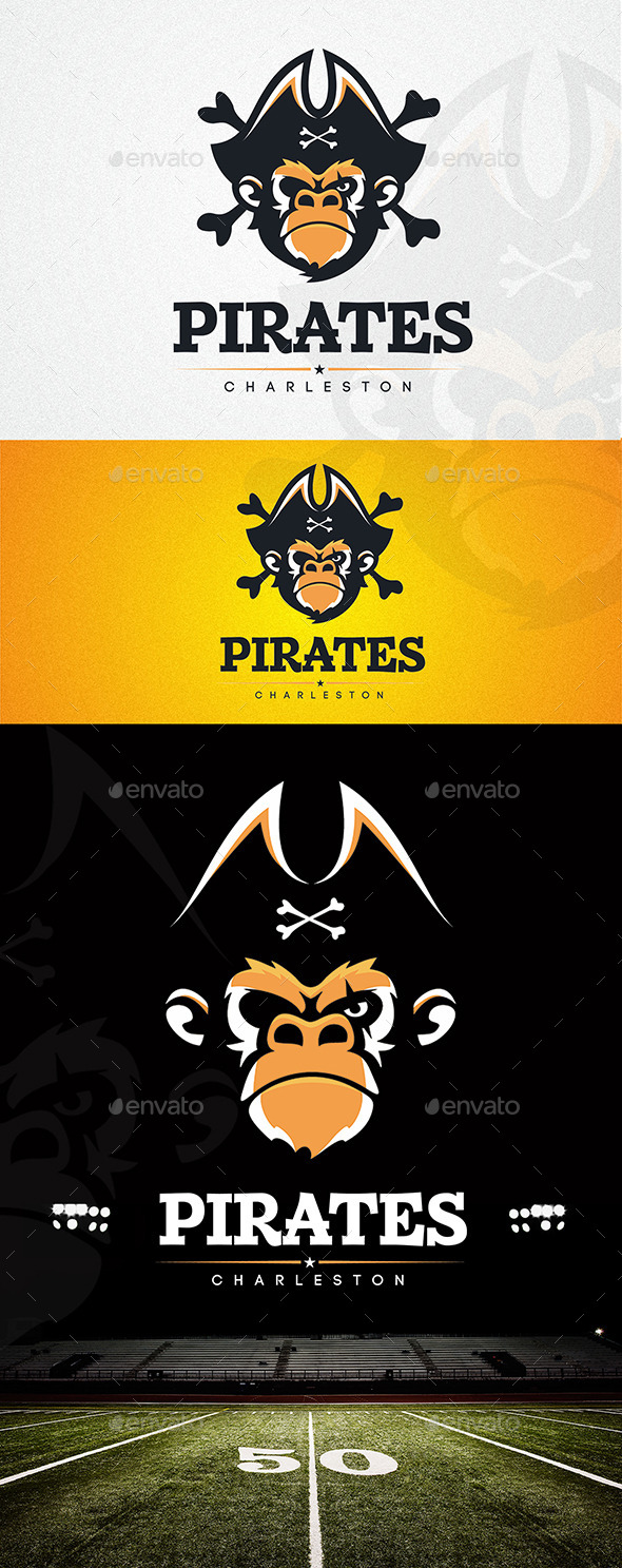 Pirates - Logo Templates