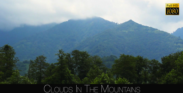 Clouds In The Mountains 2