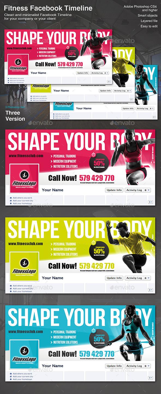 Fitness Facebook Timeline - Facebook Timeline Covers Social Media