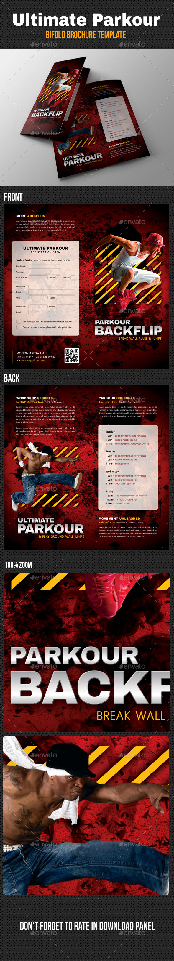 Ultimate Parkour Bifold Brochure V2