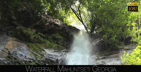 Waterfall Mahuntseti 8