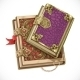 Antique Books On Witchcraft Clasps Top View