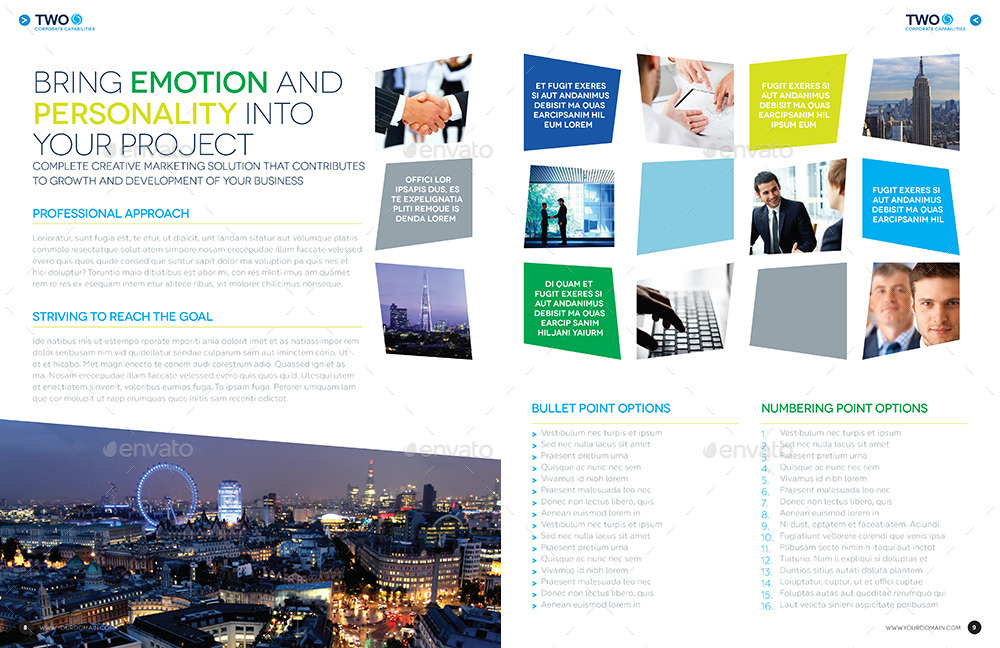 Brochure template indesign 12 page layout 08 by for 12 page brochure template
