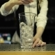 Bartender Mixes Up The Ice In a Glass - VideoHive Item for Sale