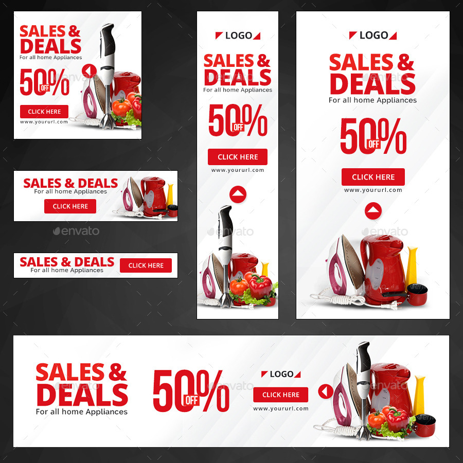Retail Sale Banners by doto | GraphicRiver