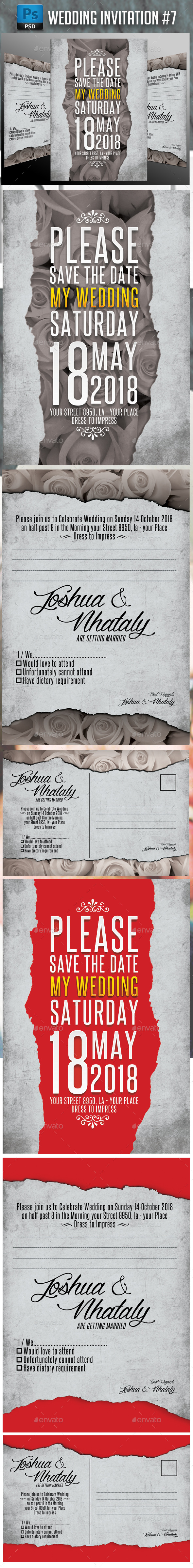 Wedding Invitation #7 - Weddings Cards & Invites