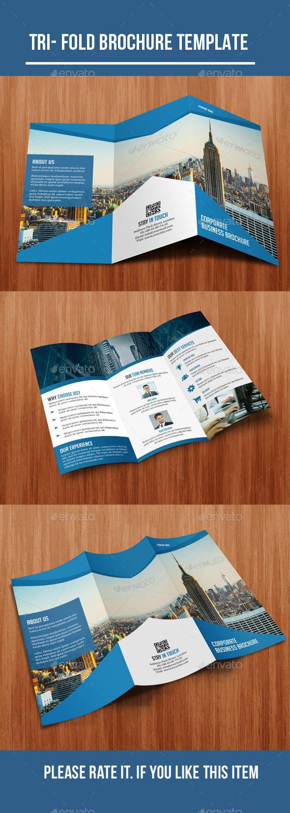 Tri- Fold Corporate Brochure - Corporate Brochures