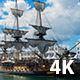 French Frigate Hermione in the Port of Brest - VideoHive Item for Sale