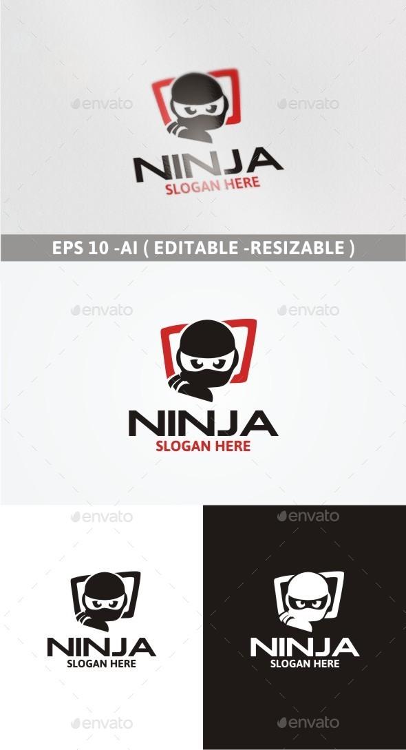 Ninja Logo - Objects Logo Templates