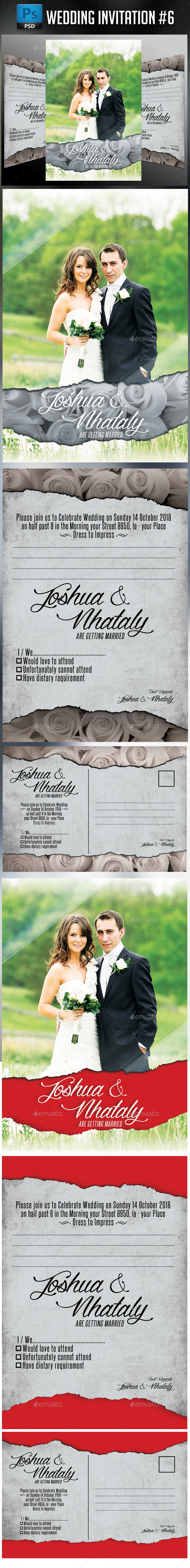 Wedding Invitation #6 - Weddings Cards & Invites