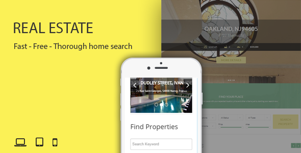Real Estate - Responsive Joomla Extensions - CodeCanyon Item for Sale