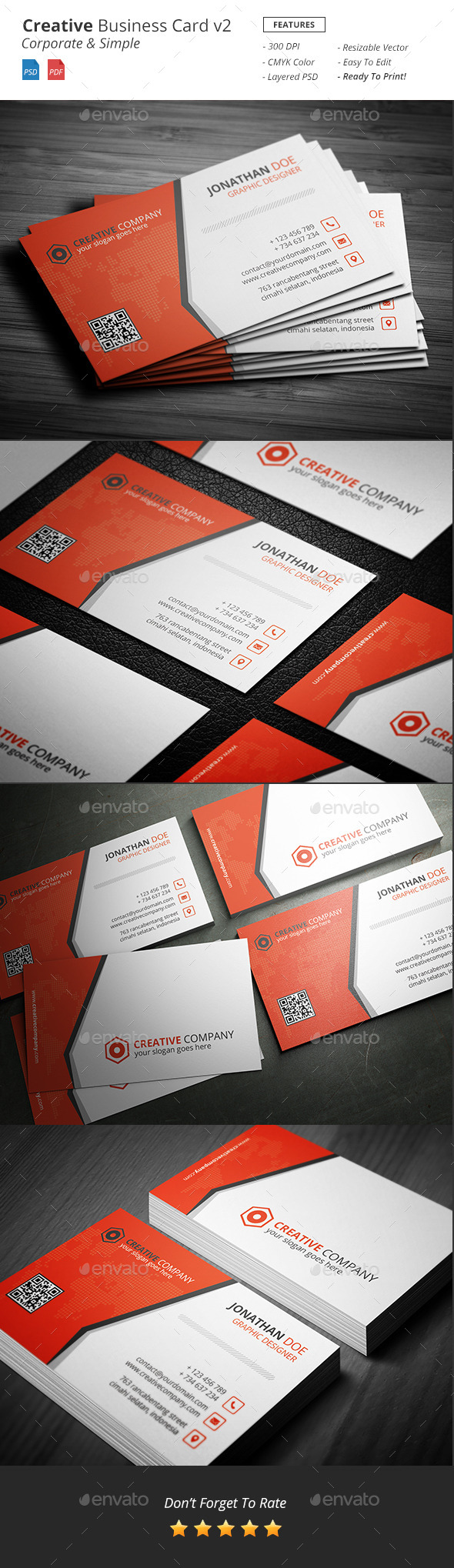 Creative - Bussiness Card v2 - Creative Business Cards