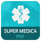 Super Medica | Multipage Medical PSD Template - ThemeForest Item for Sale