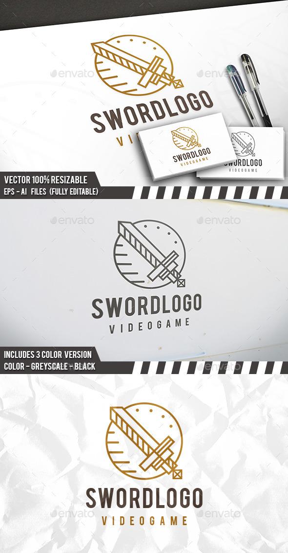 Sword Logo Template - Symbols Logo Templates