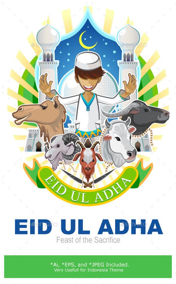 Eid Al Adha Festival of Sacrifice Islam Religious  - Religion Conceptual