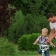 Father Teaching His Son To Ride a Bike - VideoHive Item for Sale