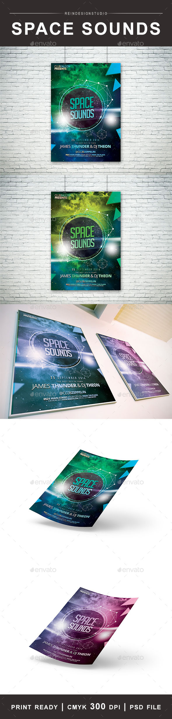 Space Sounds - Clubs & Parties Events