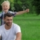 Father And Son Playing In Park - VideoHive Item for Sale