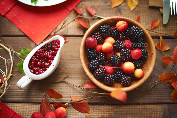 Autumn sweets - Stock Photo - Images