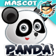 Panda Mascot - GraphicRiver Item for Sale